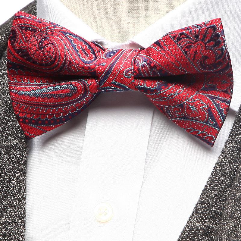 One Size Danggi Man Mens St Patricks Green Shamrock Bowtie Bow Tie Blue