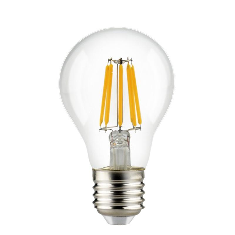 Led filament bulb 4W 6W 8W E27 B22 dimmable led bulb CE approved