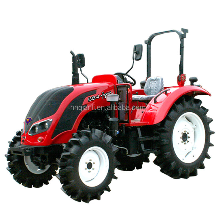 best price 55hp 4WD farm tractor uses in India