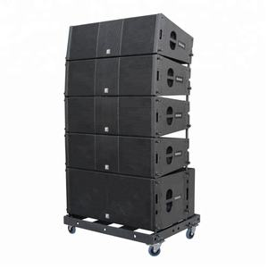 Outdoor concert speakers QSC-Q5 line array sound system, 12 inch speakers prices
