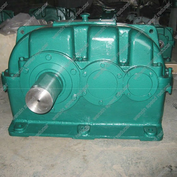 Wanxin ZLY series 2 stage helical gearbox for construction machine