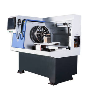 factory diamond cut alloy wheel repair machine,wheel rim repair cnc lathe