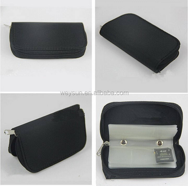 100pcs Portable Memory Card Storage Carrying Bag Pouch Case Holder For SIM CF SD SDHC MS DS