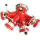 XHYXFire Safety Rescue Tools Professional Fire Fighting Aluminum Fire Fighting Water Divider