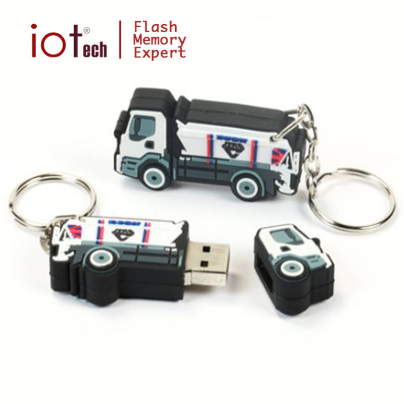 OEM Branded Custom Rubber Cartoon Charakter USB-Flash-Laufwerk