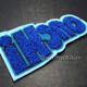 Embroidered Custom Felt Patch Badges Custom Felt Embroidery Patch Label Chenille Badge