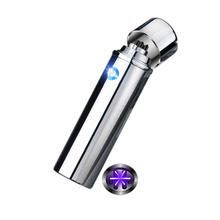 XY830109 Hot Sale six flame triple arc electronic rechargeable windproof flameless usb lighter
