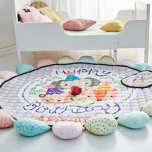 Infant Baby Cotton Cartoon Crawling Protection Mat