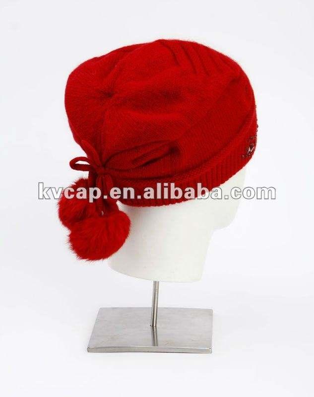 Acrílico de la mujer y el hombre kntting sombrero <span class=keywords><strong>2012</strong></span> 100% acrílico gris sólido de la muchacha gorro de punto