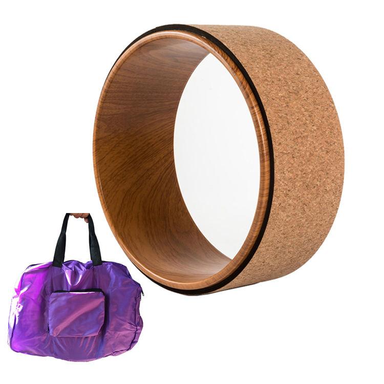 Esercizi a casa uso Indietro Piega Inversioni di legno Stretching nucleo di Supporto ruota equilibrio di legno di yoga