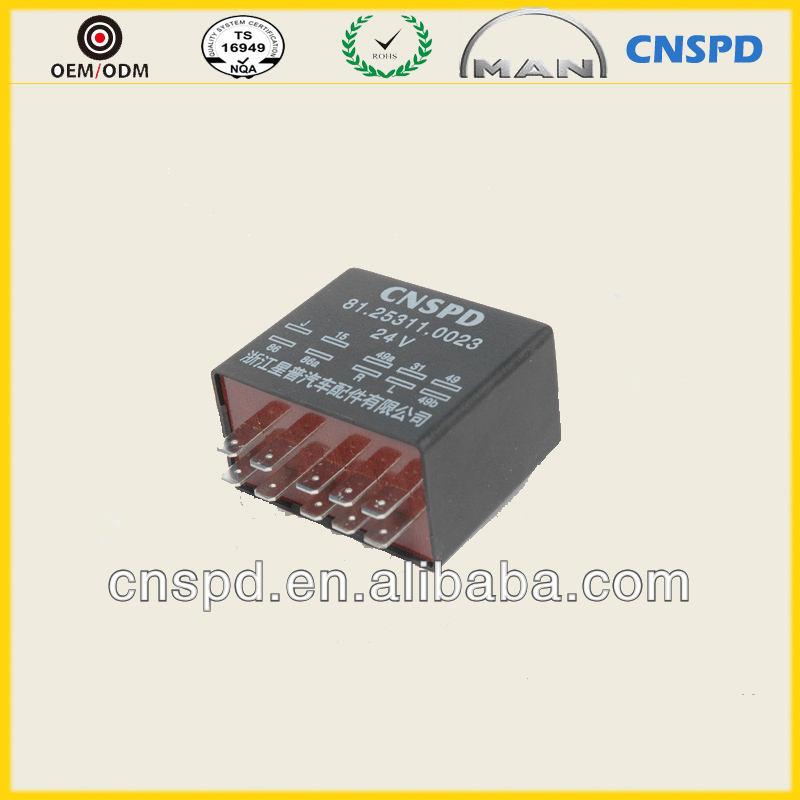 24 В электронные флэш-flasher для стеклоочиститель 81253110017 / 0023 / 0015