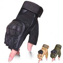 Outdoor Half Finger Cycling Safety Tactical Gloves