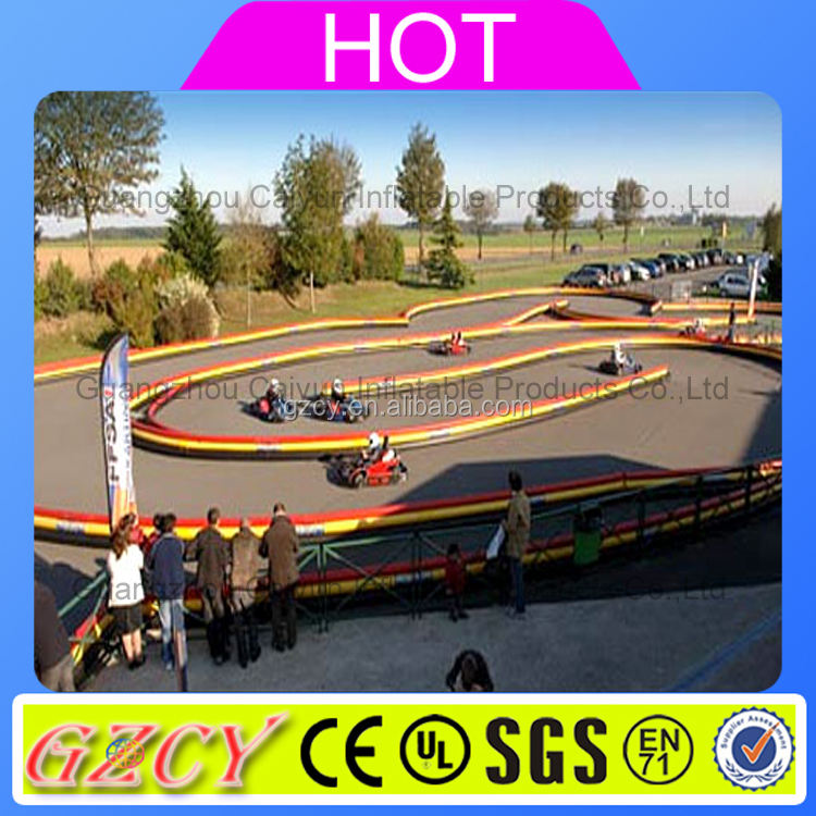 Manufacture inflatable go kart race track karting track
