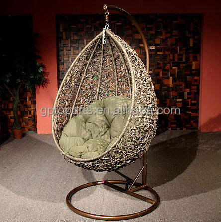 hanging egg chairs leisure garden outdoor indoor rattan hot sale hanging rattan chair