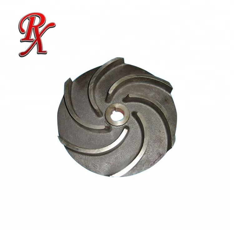 Sand cast or precision investment casting stainless steel pump impeller/CNC Parts