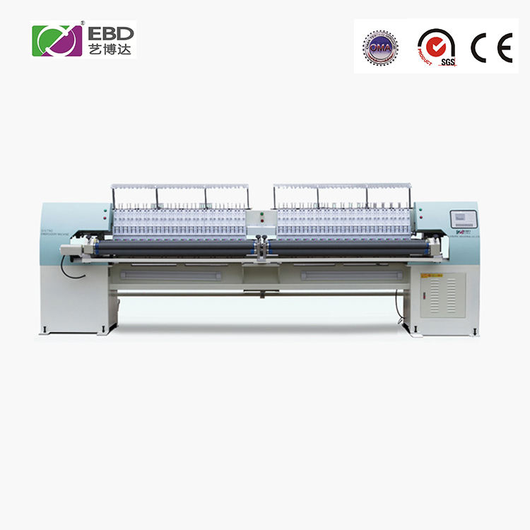 YBD151 high efficiency industrialized computerized quilting embroidery machine for processing clothes