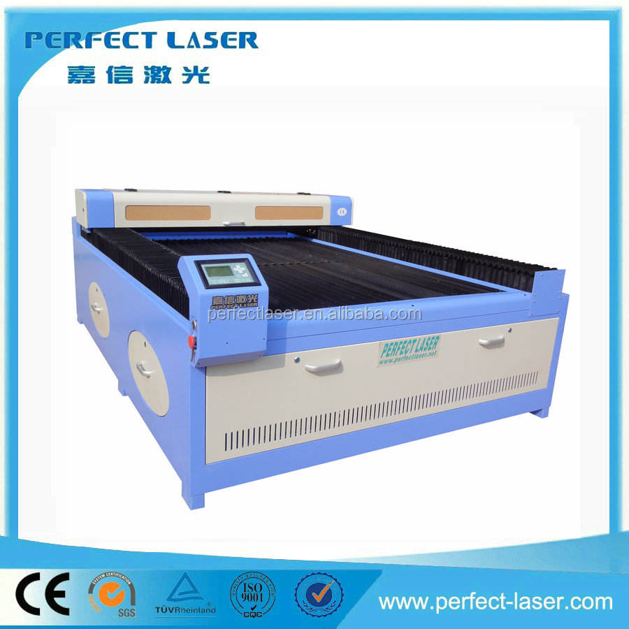 Made in china organic glass laser cutting machine 100W laser power with superior quality