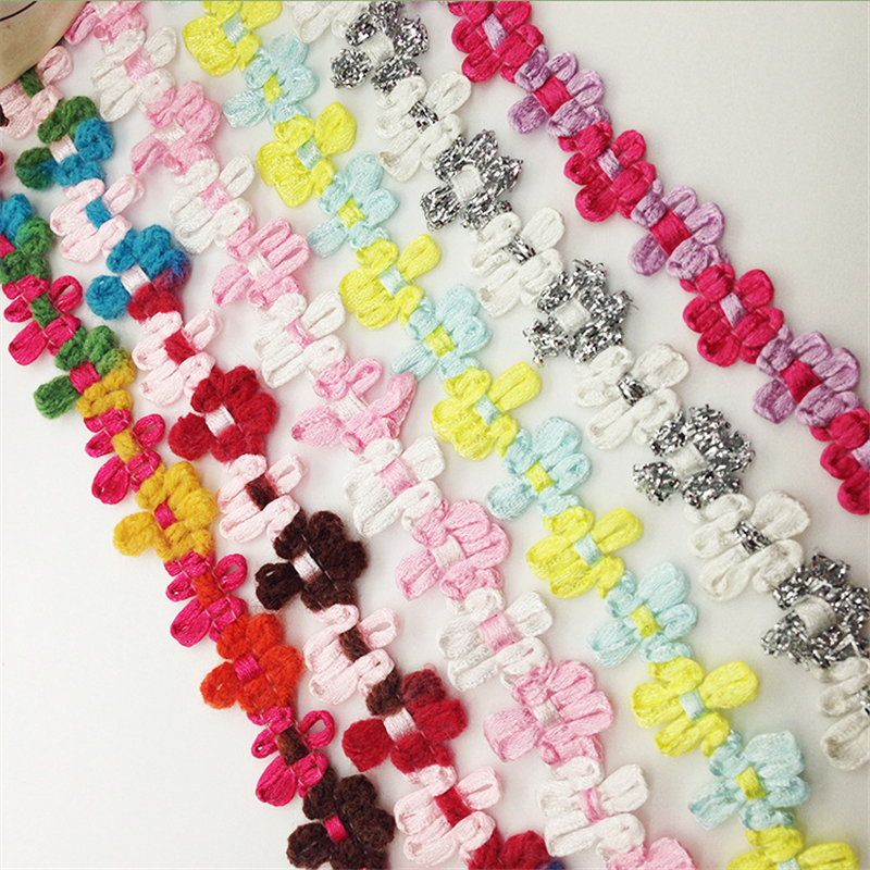 wholesale decoration lace fabric ribbon