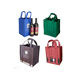 Reusable Cheap 6 Bottles Non Woven Wine Tote Bag with Dividers