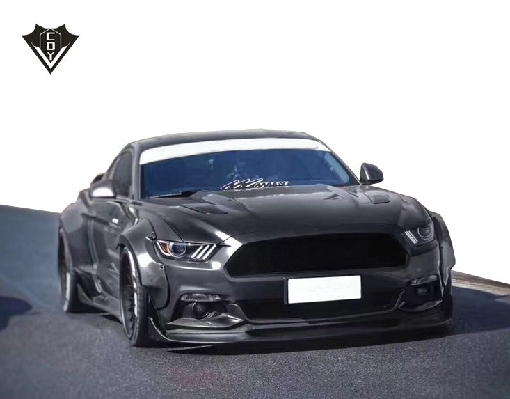 2015-2017 Mustang Decklid Panel GT Overlay Decal Sticker Custom