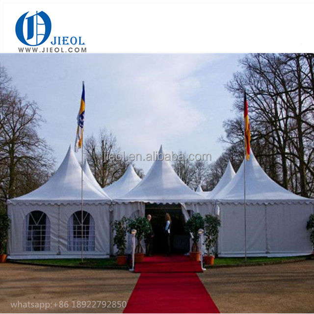 3x3m 5x5m PVC Tent China Pagoda Marquee Party Tent