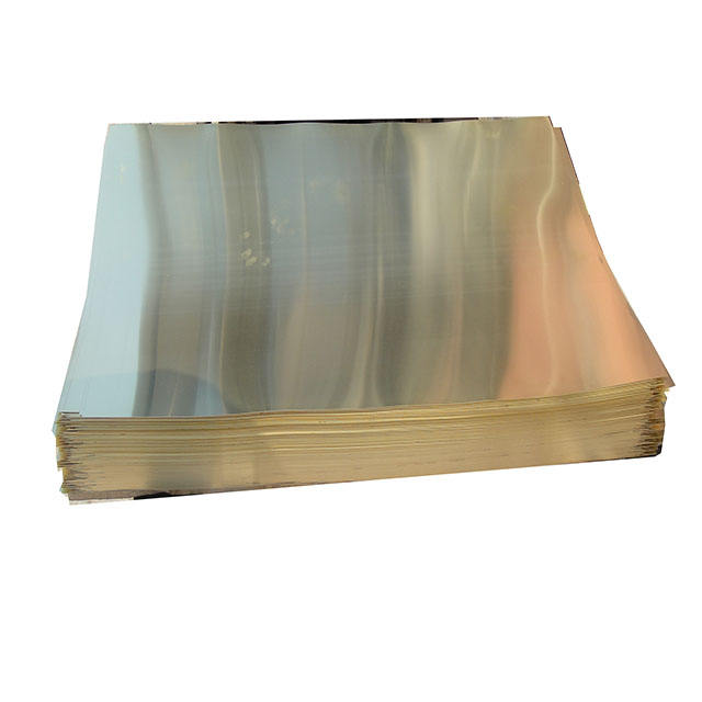 High quality brass sheet 10mm
