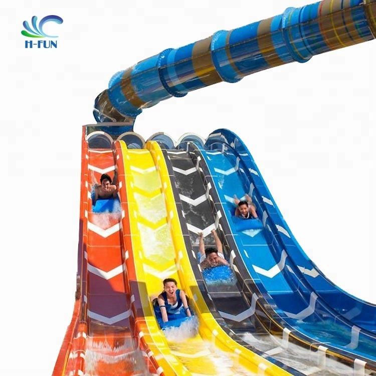 2.0 cm EVA Foam Water Slide Mat for Aqua Park Racer Slide