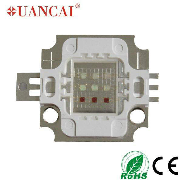 high bright high power rgb 10w led for decorative light