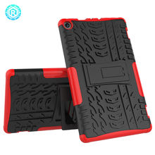 10 years factory shockproof tpu tablet cover case for kindle fire 8 2017