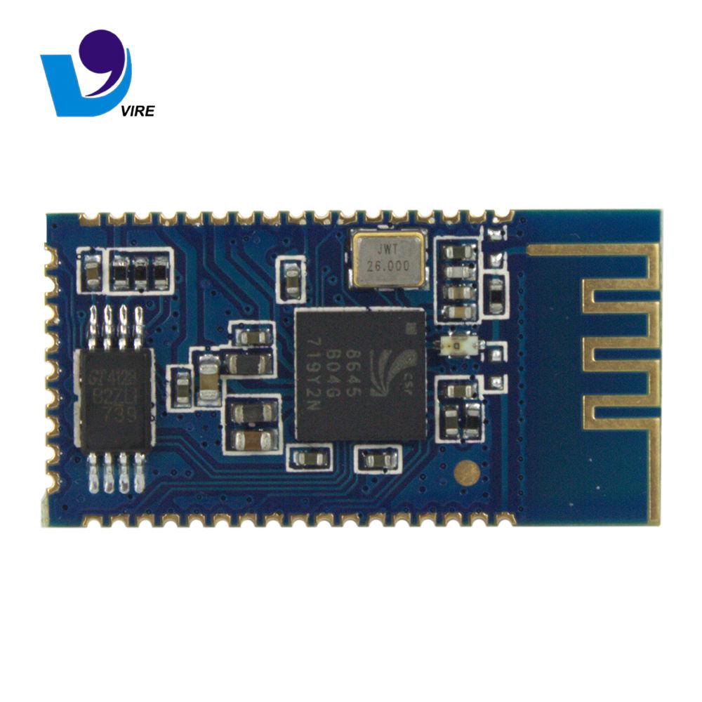 Baixo custo e alta eficiência de transmissão sem fio estéreo Bluetooth módulo usa o chip CSR BC8