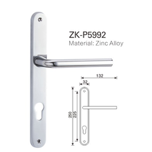 High quality 2018 new zinc alloy hot selling door handle ZK-P5992