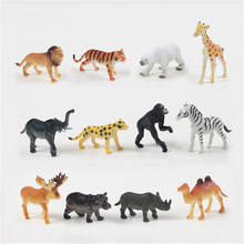 Forest plastic animal toy;Plastic zoo animal toy