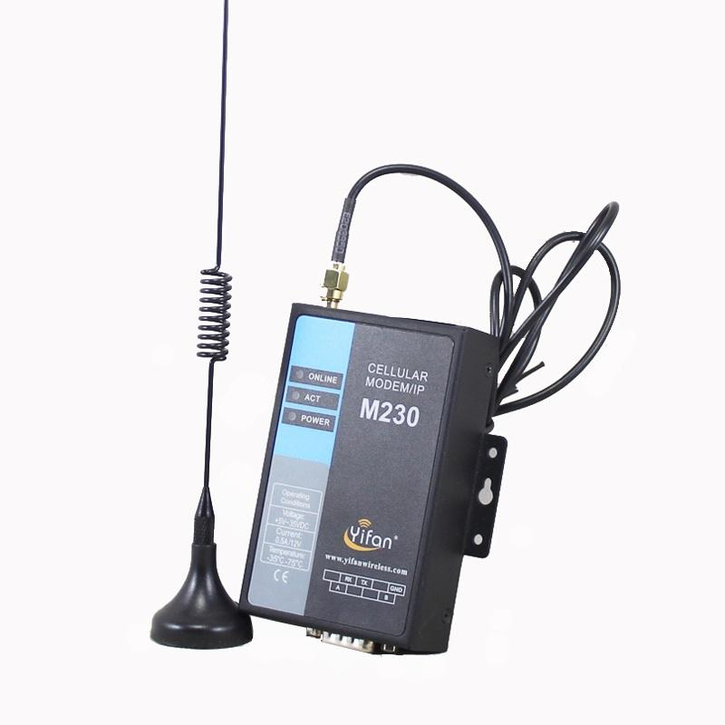 M230 Hỗ Trợ truyền dữ liệu trong suốt <span class=keywords><strong>cổng</strong></span> nối tiếp RS232 RS485 GSM GPRS <span class=keywords><strong>modem</strong></span> cho AMR PLC