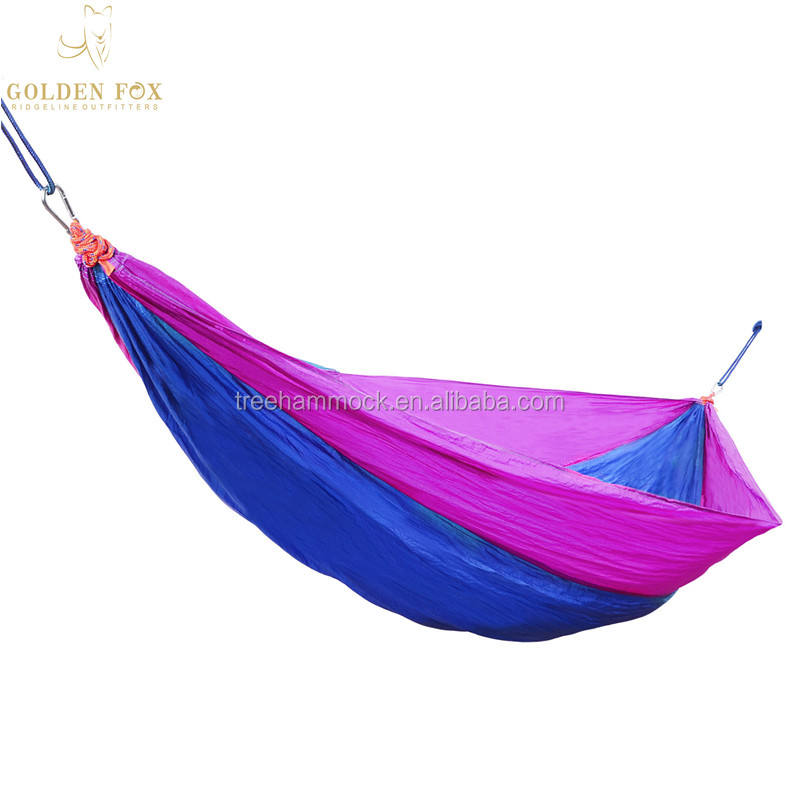 210T Parachute Nylon Portable Heavy Duty Camping Hammocks