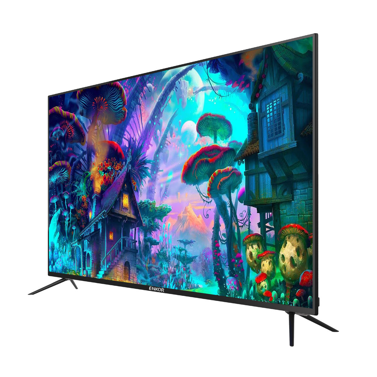 Full HD Televisi dengan Wifi LED TV dari China LED Televisi 4K Smart TV 32 39 40 43 50 55 Inch dengan HD FHD UHD Biasanya LED TV