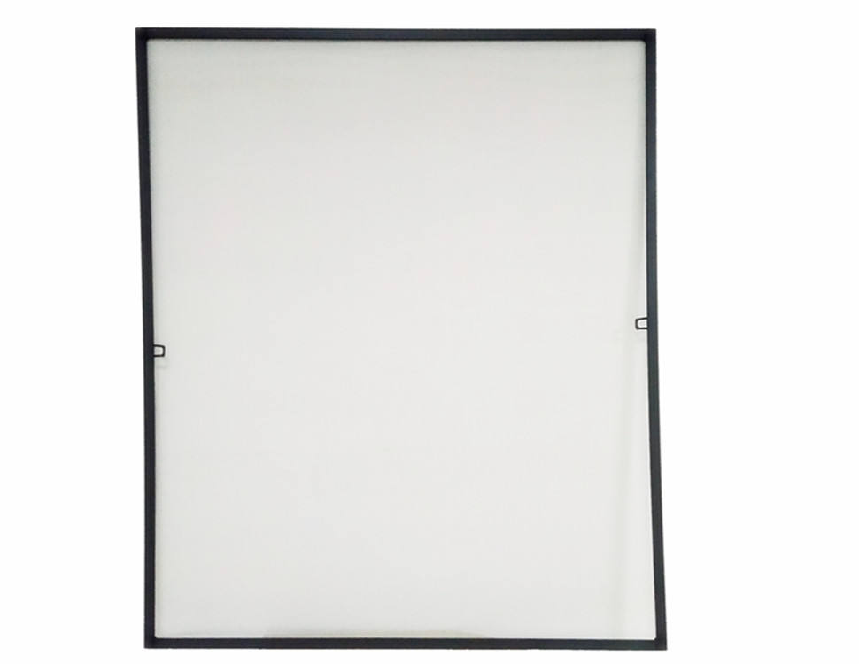 DIY Aluminum Frame Fly screen 100x120 white insect protection window