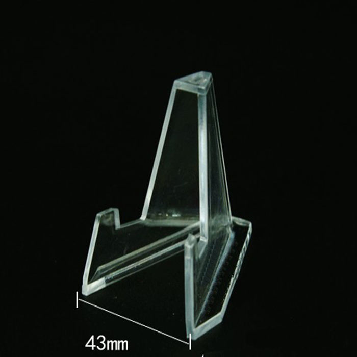 clear acrylic coins display stands easel plexiglass small knives holders