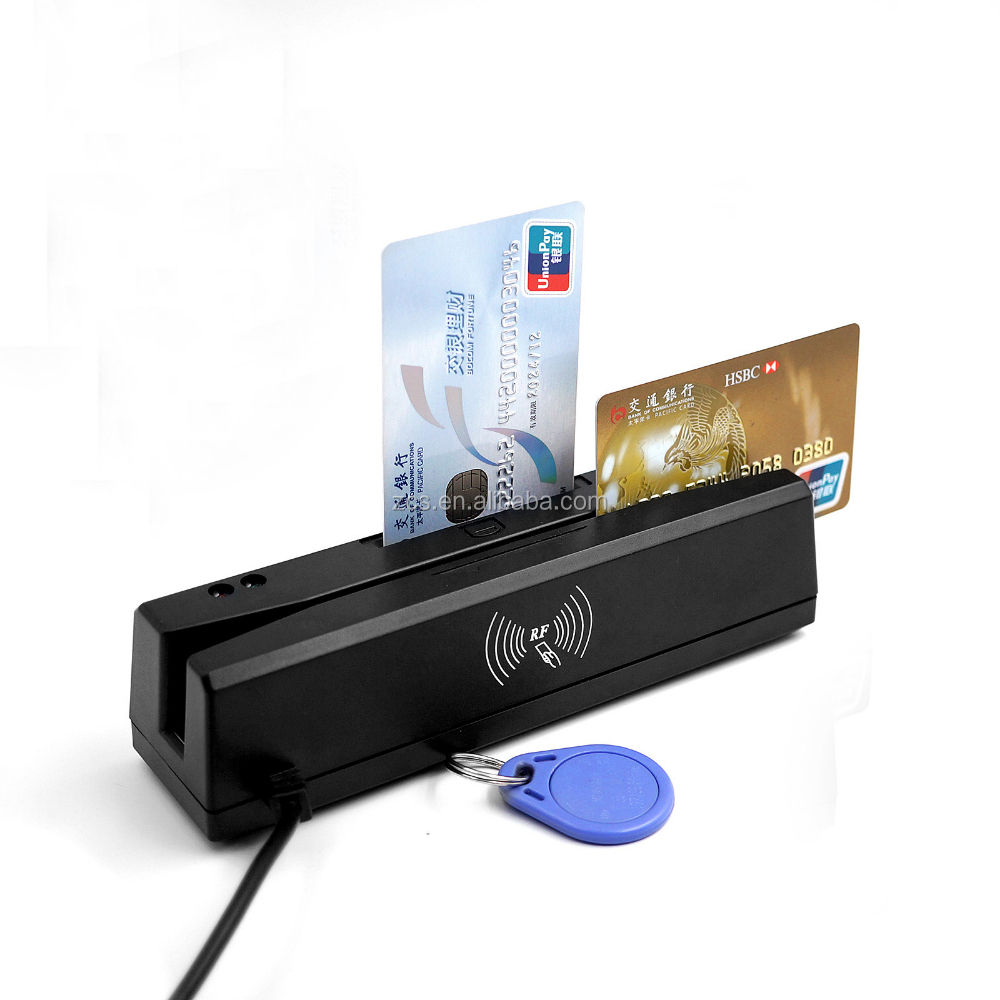 EMV L1 Approved Magnetic Card Reader, IC chip/RFID/PASM card Reader Writer