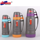 vacuum jug flask/thermal travel cup/PP plastic with glass refill thermos/on stocks to keep fast delivery