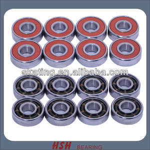 Spin 5 minutes 20 seconds ABEC-5 ABEC-7 ABEC-9 ABEC-11 608 size 8 bore long board skate bearing