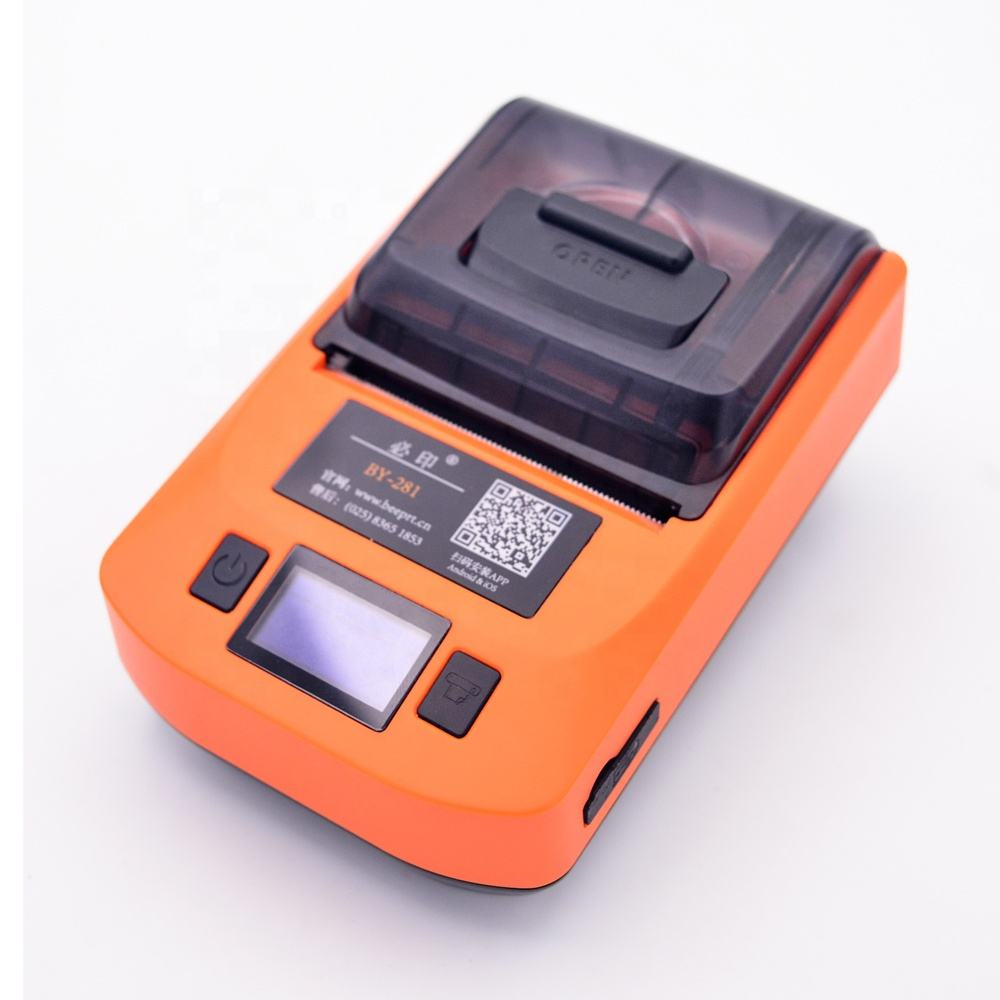 Beeprt 2inch mini mobile label receipt bluetooth handheld portable printer and Jewellery price label printer