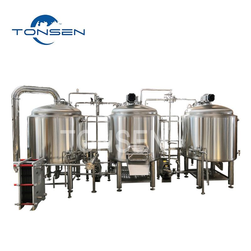 Tonsen Beer Brewing Equipment Micro beer brewery system copper 200L 300L 500L 1000L Per Batch