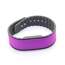 Cheap 125KHZ LF Adjustable RFID Silicone Wristbands For Medtech And Healthcare