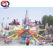 Customized handmade decorative fun rides self control plane amusement