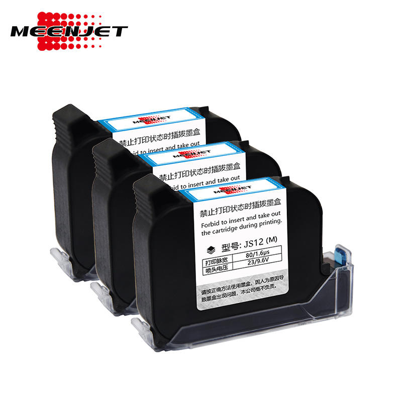 Meenjet good adhesion cartridge cheap price 42ml food carton plastic bag metal pipe cable printing printer ink cartridge