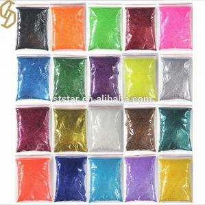 Factory Supply Colorful High Quality Wholesale Bulk Glitter Powder Crafts Glitter