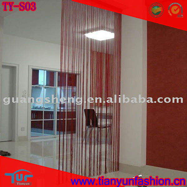 Thread Curtain As Door Curtain or Window Curtain