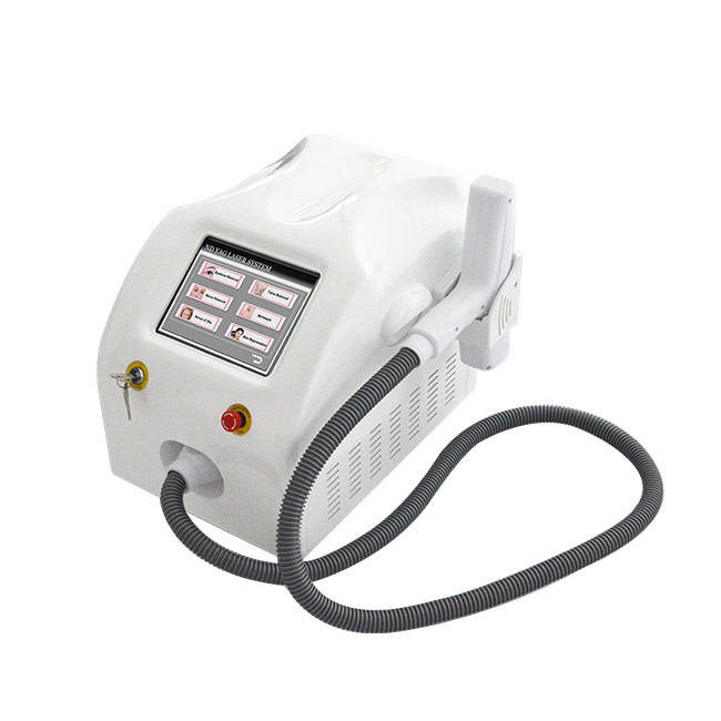 Spot adjustable 1-7mm tattoo removal price nd yag long pulse laser q switch nd yag laser tattoo removal