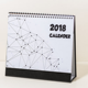Wholesale lined design modern unique desk calendar