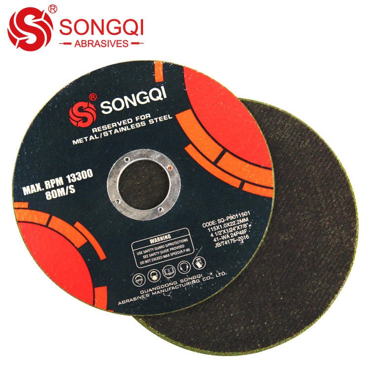 Gloden star cutting discs 115*1.0*22.23mm for metal